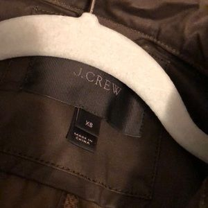 JCREW JACKET SIZE XS
